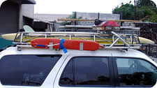 Emergency Vehicle Rails. Railings and Racks for Lifeguards, Trucks, Boats and Fire